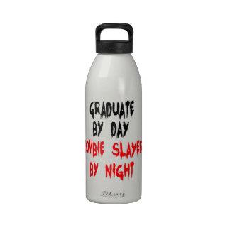 Zombie Slayer Graduate Water Bottle