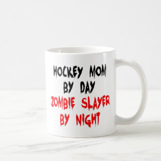 Zombie Slayer Hockey Mom Coffee Mug