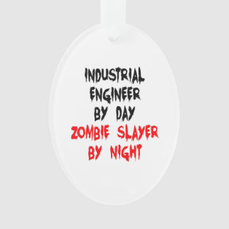 Zombie Slayer Industrial Engineer Ornament