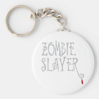 Zombie Slayer Keychain