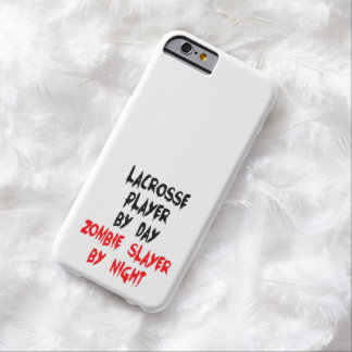 Zombie Slayer Lacrosse Player Barely There iPhone 6 Case