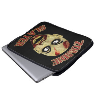 Zombie Slayer Laptop Computer Sleeves