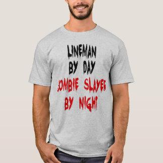 Zombie Slayer Lineman T-Shirt