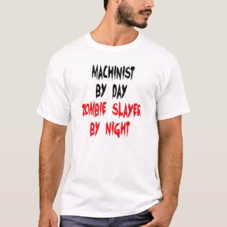 Zombie Slayer Machinist T-Shirt