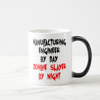 Zombie Slayer Manufacturing Engineer 11 Oz Magic Heat Color-Changing Coffee Mug