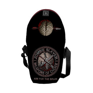 Zombie Slayer Messenger Bag