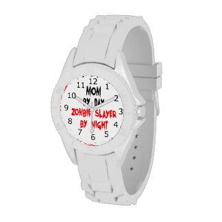 Zombie Slayer Mom Wrist Watches