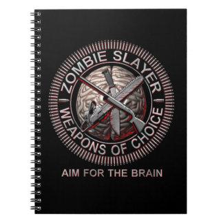 Zombie Slayer Note Books