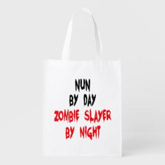 Zombie Slayer Nun Market Totes