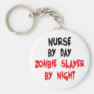 Zombie Slayer Nurse Key Chains