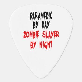 Zombie Slayer Paramedic Guitar Pick by Graphix_Vixon at Zazzle
