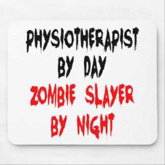 Zombie Slayer Physiotherapist Mouse Pad