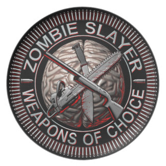 Zombie Slayer Plate