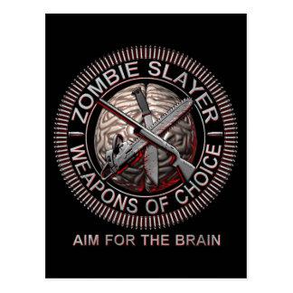 Zombie Slayer Postcards