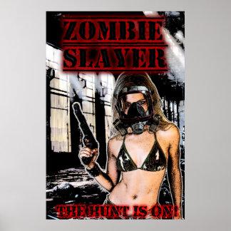 Zombie Slayer Poster