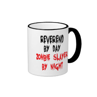 Zombie Slayer Reverend Ringer Mug