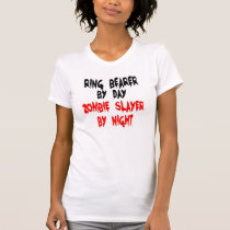 Zombie Slayer Ring Bearer T-Shirt