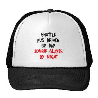 Zombie Slayer Shuttle Bus Driver Trucker Hat