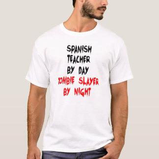 Zombie Slayer Spanish Teacher T-Shirt