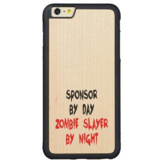 Zombie Slayer Sponsor Carved® Maple iPhone 6 Plus Bumper Case