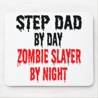 Zombie Slayer Step Dad Mouse Pad
