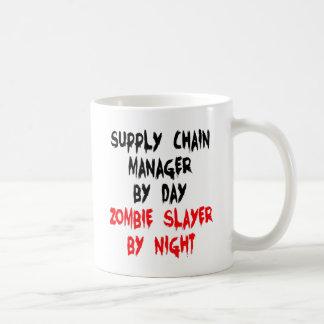 Zombie Slayer Supply Chain Manager Classic White Coffee Mug