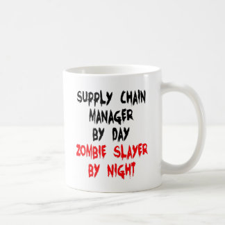 Zombie Slayer Supply Chain Manager Coffee Mug