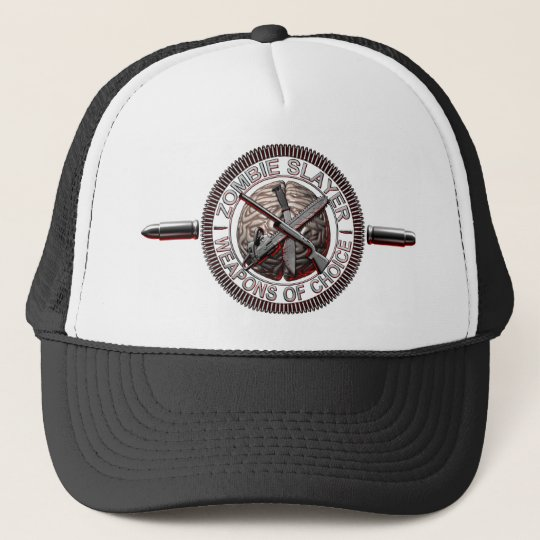 a5c864726fe Zombie Slayer Trucker Hat