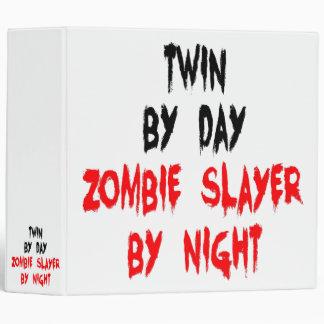 Zombie Slayer Twin 3 Ring Binder