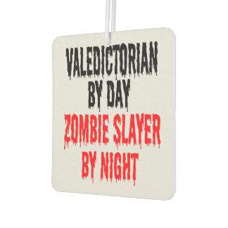 Zombie Slayer Valedictorian Air Freshener