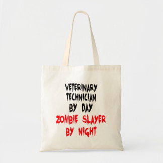 Zombie Slayer Veterinary Technician Tote Bag