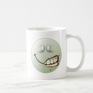 Zombie Smiley Face Coffee Mug