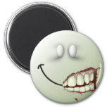Zombie Smiley Face Magnet