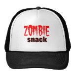 Zombie Snack tee shirt Hats