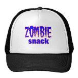 Zombie Snack tee shirt Mesh Hats
