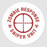 Zombie Sniper Stickers