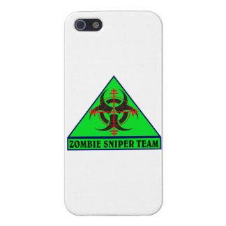 Zombie Sniper Team iPhone Case