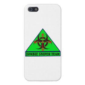 Zombie Sniper Team iPhone Case iPhone 5 Cover