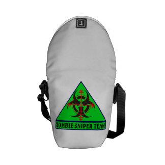 Zombie Sniper Team Messenger Bag