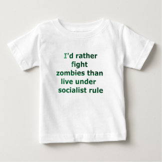 zombie socialism baby T-Shirt