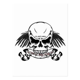 Zombie Squadron Postcard