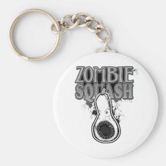 Zombie Squash TM Basic Round Button Keychain
