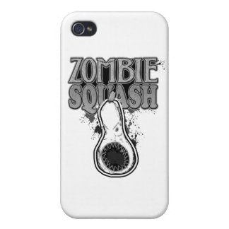 Zombie Squash TM Cover For iPhone 4