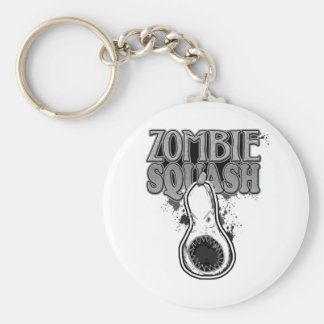 Zombie Squash TM Key Chains