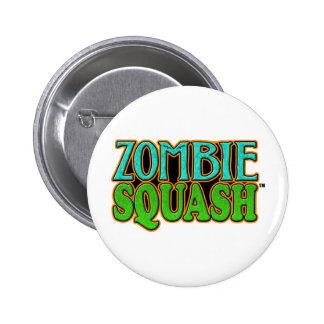Zombie Squash TM logo 2 Inch Round Button