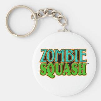 Zombie Squash TM logo Basic Round Button Keychain