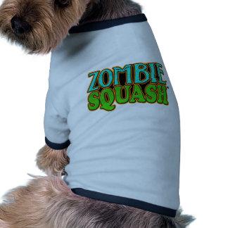 Zombie Squash TM logo Pet Tee Shirt