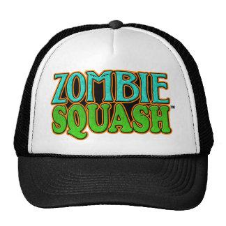 Zombie Squash TM logo Trucker Hats