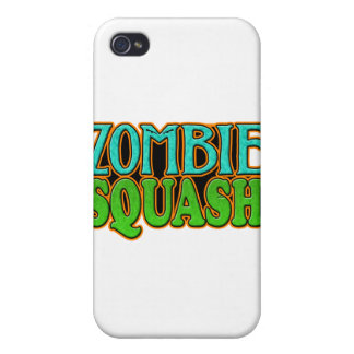 Zombie Squash TM logo Covers For iPhone 4