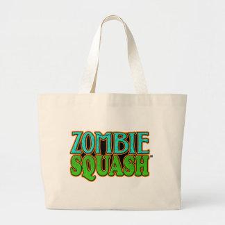 Zombie Squash TM logo Jumbo Tote Bag